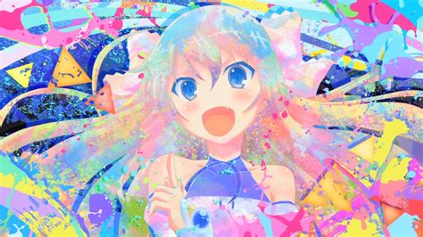 colorful anime invaders of rokujouma hd wallpaper and background