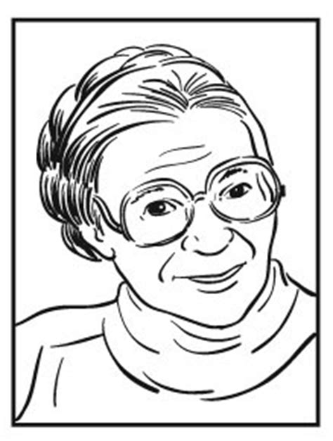Rosa Parks Coloring Pages Easy Sketch Coloring Page Rosa Parks Coloring
