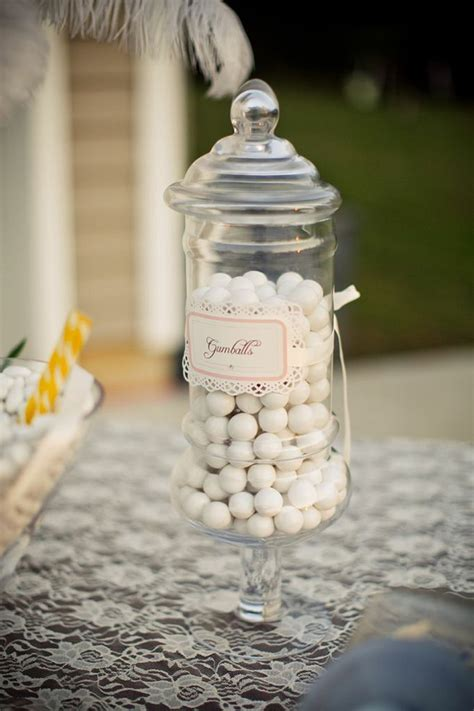 karas party ideas vintage backyard wedding table party