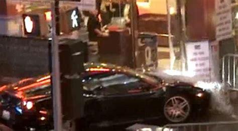 movie nicolas cage cars nicolas cage film set stunt car crash puts two in hospital