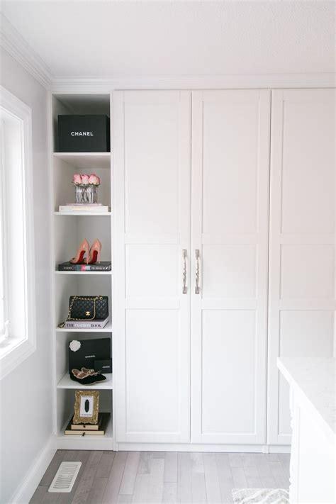 Pax Closet Doors by Walk In Closet Reveal Pax Wardrobe