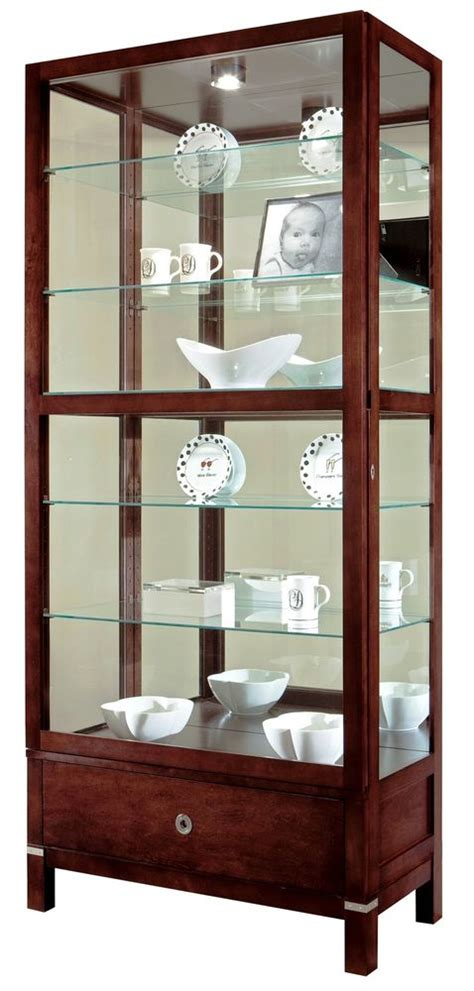 curio with drawers howard miller 680 515 williamson curio display