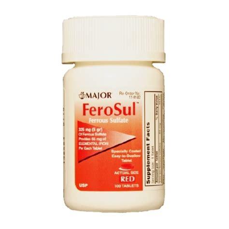 supplement with iron ferosul iron supplement 904759060