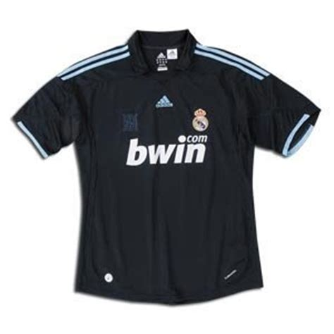 Kaos Bola Adidas Original Kaos Bola Asli Real Madrid Kaos Bola Asli Away 09 10