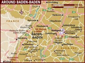 Baden Germany Map map of baden baden