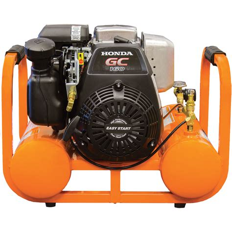 industrial air contractor pontoon air compressor w honda ohc eng 4 gal 155 psi 846212005767 ebay