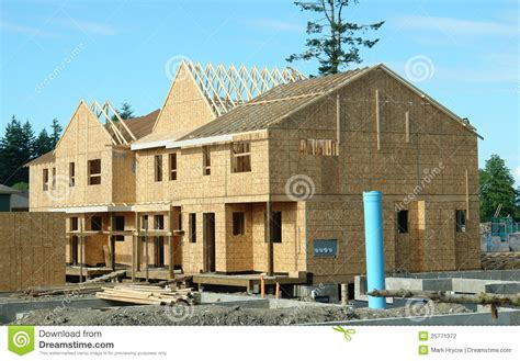 new home construction housing market stock photo image