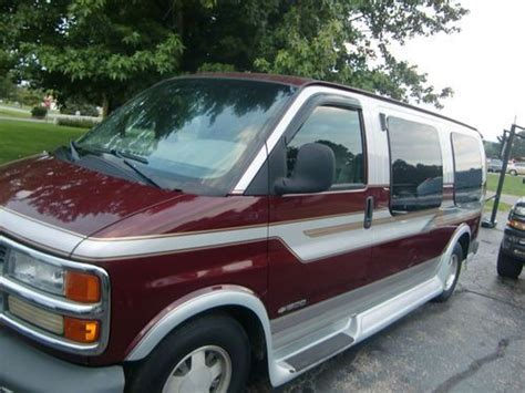 automobile air conditioning service 2000 chevrolet express 2500 windshield wipe control purchase used 2000 chevy express 1500 van in newark ohio united states for us 6 000 00