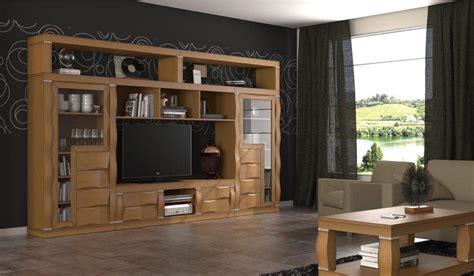 muebles de salon color cerezo