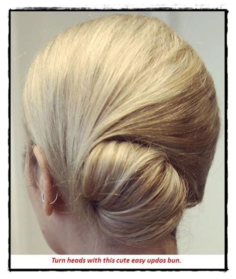 medium length updo with instructions cute easy updos for medium hair hair pinterest buns