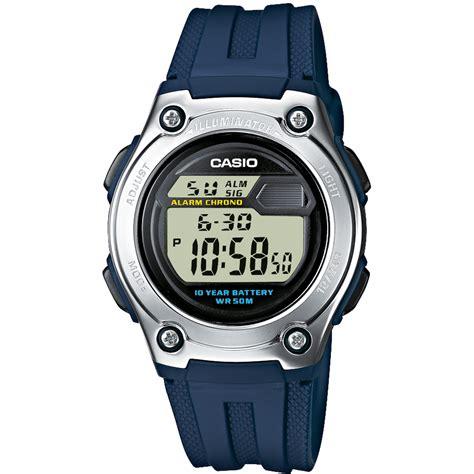 Casio W 211 casio w 211 2aves horloge ean 4971850437062 horloge nl