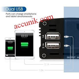 Power Inverter 300 Watt Dengan Colokan Usb jual inverter mobil 150watt 2 usb type b murah jual