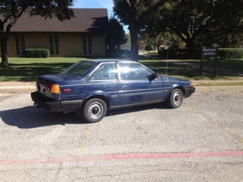 1984 Toyota Corolla Gts For Sale Sell Used 1984 Toyota Corolla Ae86 In