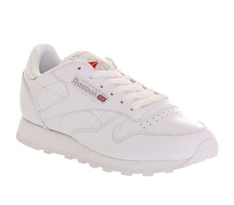 Reebok Classic White by Reebok Classic Leather Trainers W In White Lyst