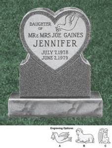baby headstones product detail clear monuments