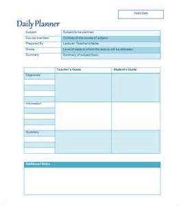lesson plan template 43 free word excel pdf format