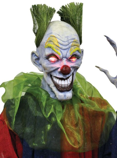 Clown Decorations by Hanging Evil Clown Decorations Props