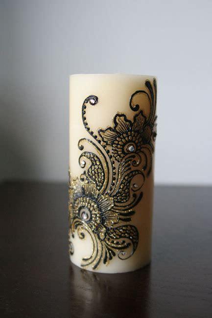 henna design candles mehndi decoration tumblr