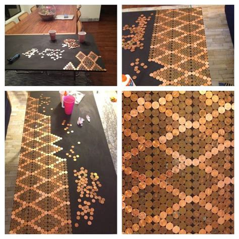make a penny backsplash for an expensive look creative ideas 172 best tile images on pinterest bathrooms bathroom