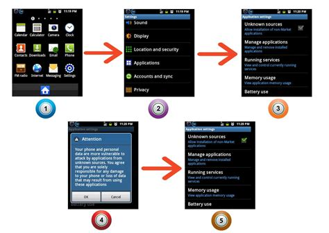 android phone app how to enable third apps installation on android