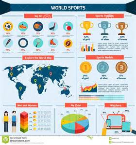 Sports Infographics Templates by Sports Infographics Set Stock Vector Image 49820700