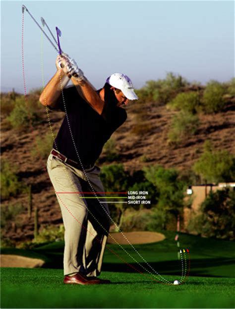 short iron swing paths to perfection golf tips magazine