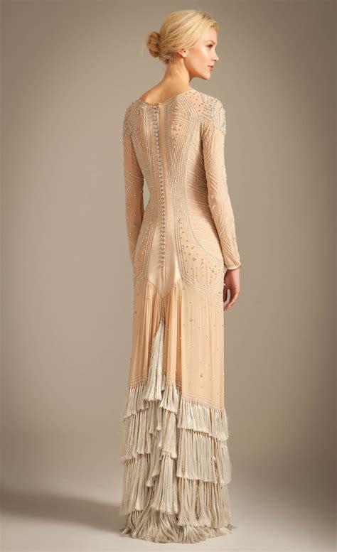 temperley london tattoo dress lyst temperley london long silvia tattoo dress in natural