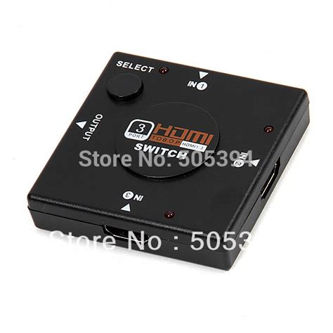 Murah Hdmi Switch 3 Port 3 Input 1 Output Hdmi Switcher mini 3 port hdmi switch switcher splitter 3 input 1 output box hdmi selector for ps3 ps4 smart