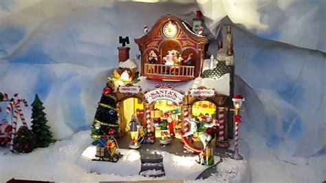 lemax santa s workshop 35558 in de kerstshow van