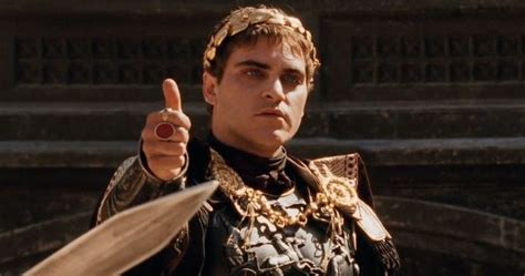 gladiator film trivia 10 insane facts about emperor commodus left out of