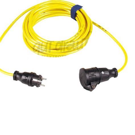 Kabel Supreme 3 X 1 5 Mm verlengsnoer pur kabel 3x1 5mm 178 25m geel ip44
