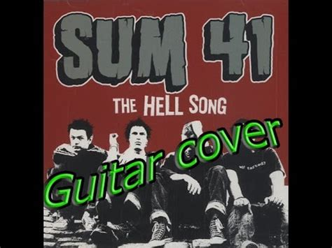 sum 41 hell song guitar cover