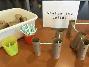 What Can You Make Out Of Paper Towel Rolls - tinker toys never shushed