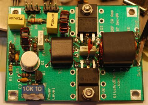 transistor lifier kit universal qrp