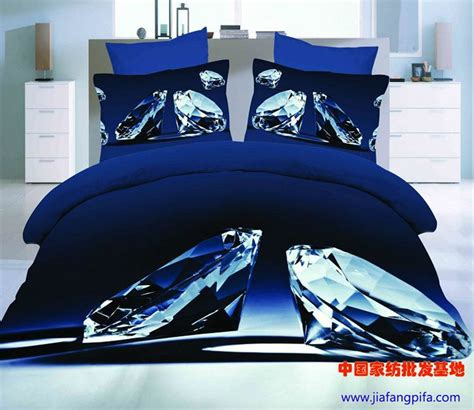 Diamond All Over Sheets Queen Size From Diamond Supply Co   3d blue diamond bedding comforter set sets queen size