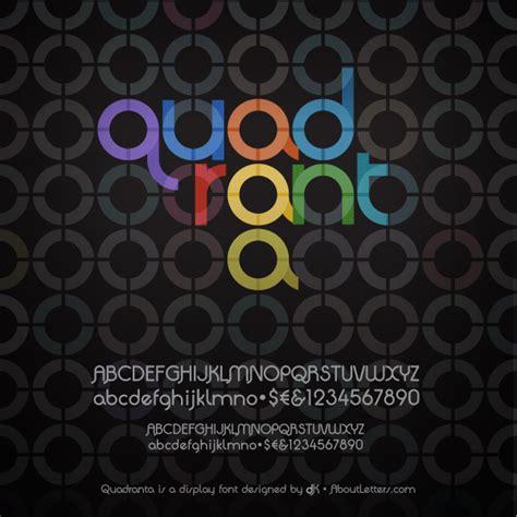design online font quadranta font dafont com