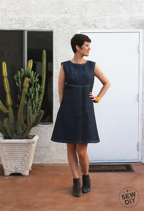 pattern review simplicity 3833 diy retro denim dress simplicity 3833 sew diy