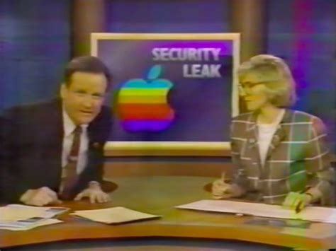 unearthed tv news clip recounts   apples biggest