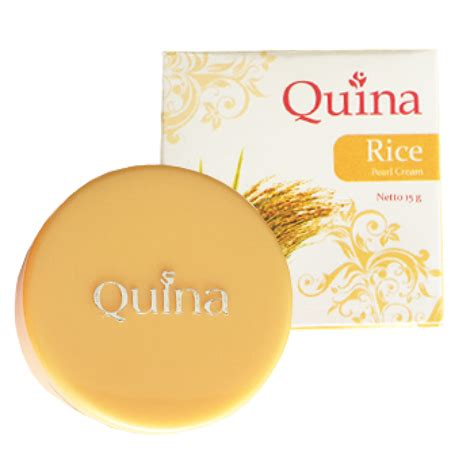 Pelembab Quina quina pearl rice 15gr gogobli