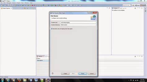 tutorial java dynamic web project programming for beginners create dynamic web project in
