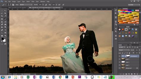 tutorial edit foto youtube tutorial editing foto prewedding dengan photoshop cc on