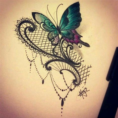 lace up tattoo designs best 25 lace butterfly ideas on