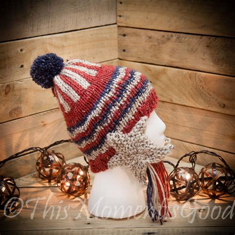 loom knit earflap hat pattern loom knit patriotic earflap hat pattern this moment is