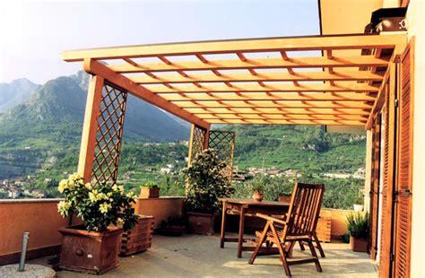 gazebi per terrazzi gazebo in legno lamellare da giardino tendasol