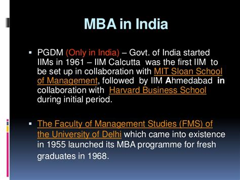 Mba In India Options In Usa by Before Joining Mba What You Should