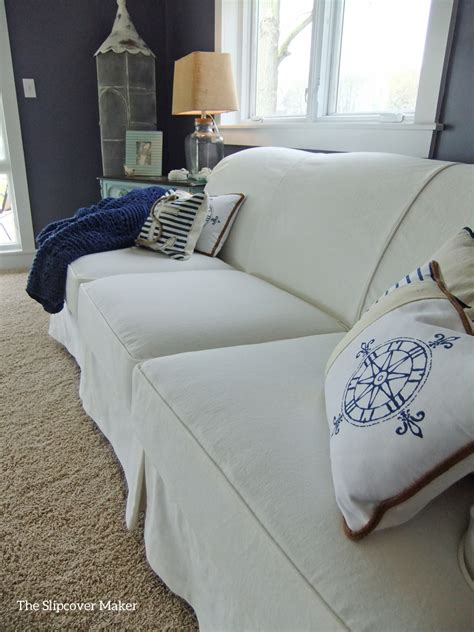 White Slipcovers The Slipcover Maker White Slipcover Sofa