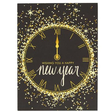 new year ideas for singles gold and glitter new year card happy new year cards
