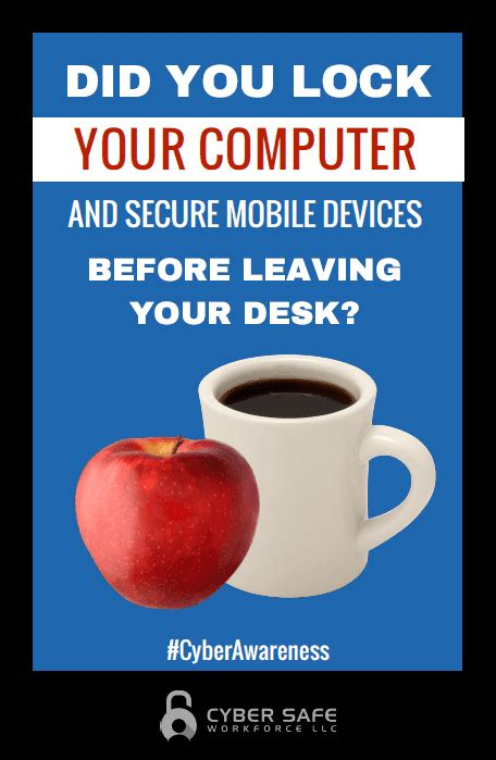 Are You To Your Computer by Security Awareness Posters