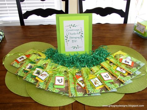 Jungle Book Themed Birthday Party | greygrey designs my parties grant s jungle book 2nd