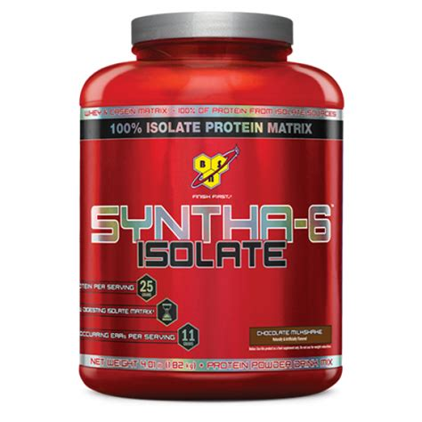 Whey Protein Syntha Bsn Syntha 6 Isolate Whey Isolate Protein